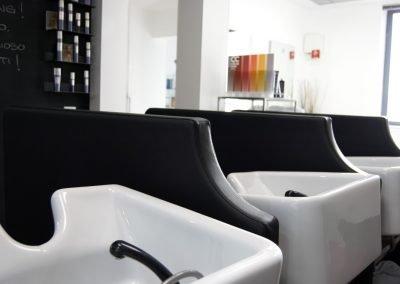 Interno parrucchiere a Cazzago di Pianiga